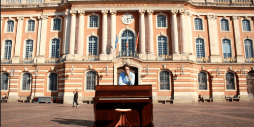 Laurent Nogatchewsky, le pianiste de rue
